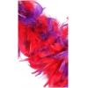 Chandelle Turkey Flat Boa 2-tone Red/Purple